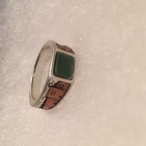 Jewelry - Size 6 sterling silver&copper handmade signed ring